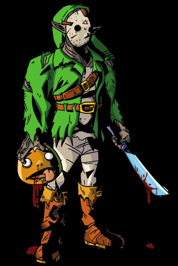 600x896 Friday The 13thzelda Crossover Art Zelda Dungeon