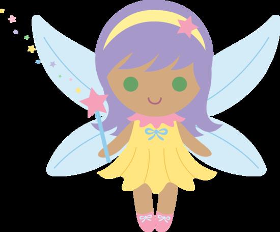 550x455 Little Fairy With Purple Hair