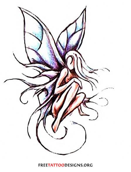 447x590 Best Fairy Tattoos Design And Ideas