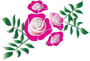 300x203 Top 75 Roses Clip Art