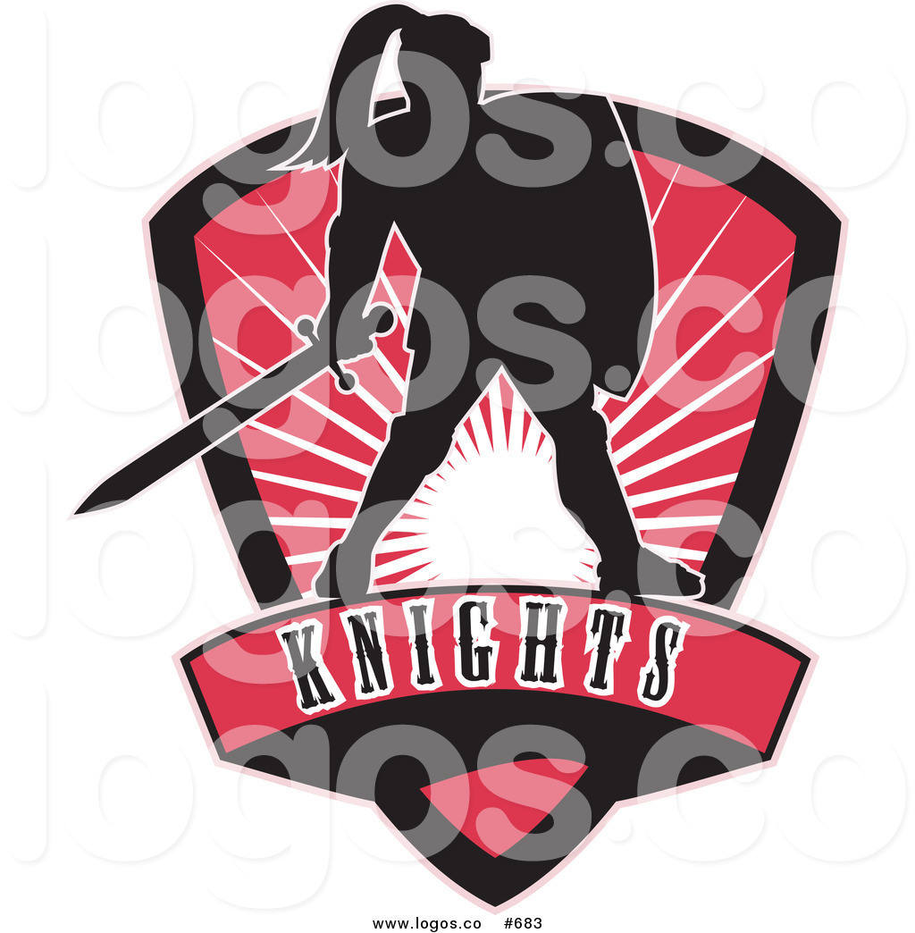 1024x1044 Royalty Free Vector Logo Of A Knights And Shield By Patrimonio