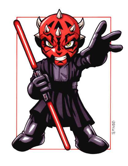 Darth Maul Clipart