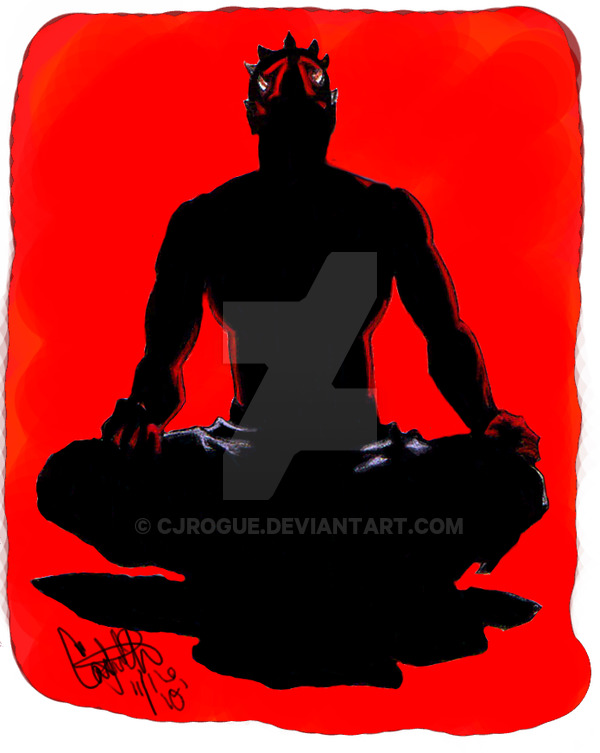 600x753 Darth Maul Meditating Gimp By Cjrogue