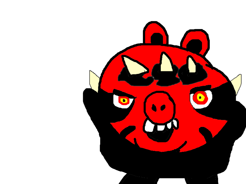 800x600 Darth Maul Pig By Mikejeddynsgamer89
