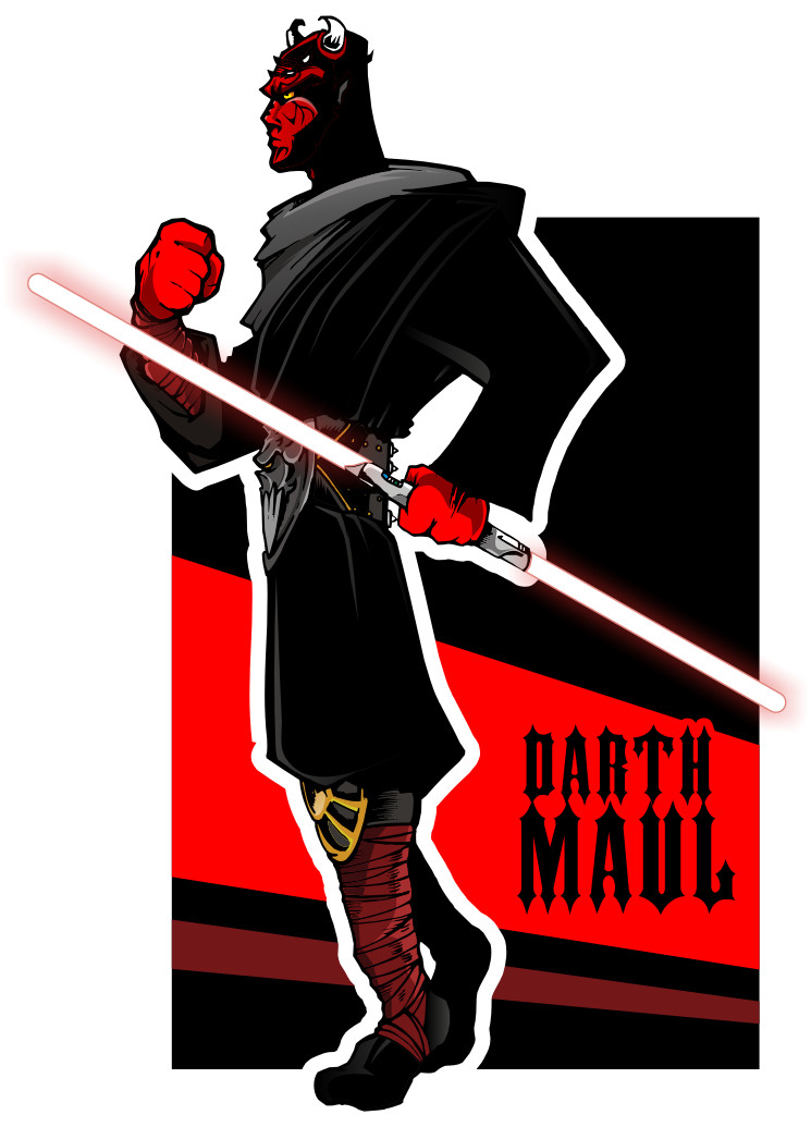 745x1035 Darth Maul By Epoole88