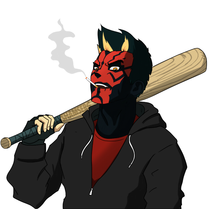 720x720 Urban Darth Maul By Shamserg