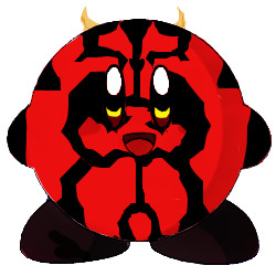 250x250 Darth Maul Kirby By Lonewinter12