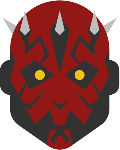 410x512 Darth, Maul Icon