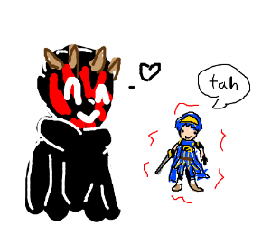 300x250 Darth Maul's Marth Doll