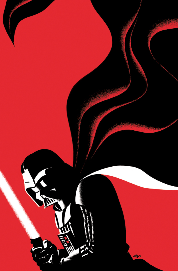 623x950 Michael Cho's Sketchbook Darth Vader 25 Variant Cover