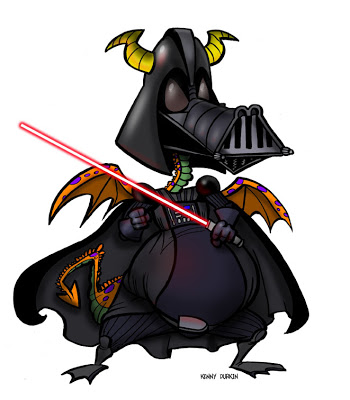 350x400 Durkinworks Durkin's Dragons Darth Vader