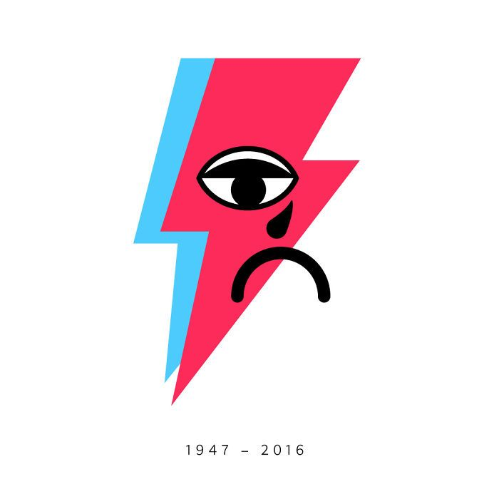 700x700 Artists Pay Tribute To Late David Bowie Pics) Bowie, David