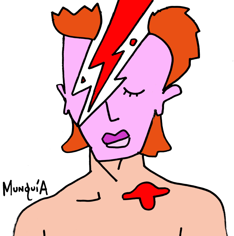 2421x2439 Lightning Bowie Album Cover Parodies Know Your Meme