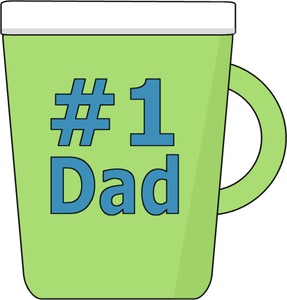 410x429 New Free Clip Art Fathers Day