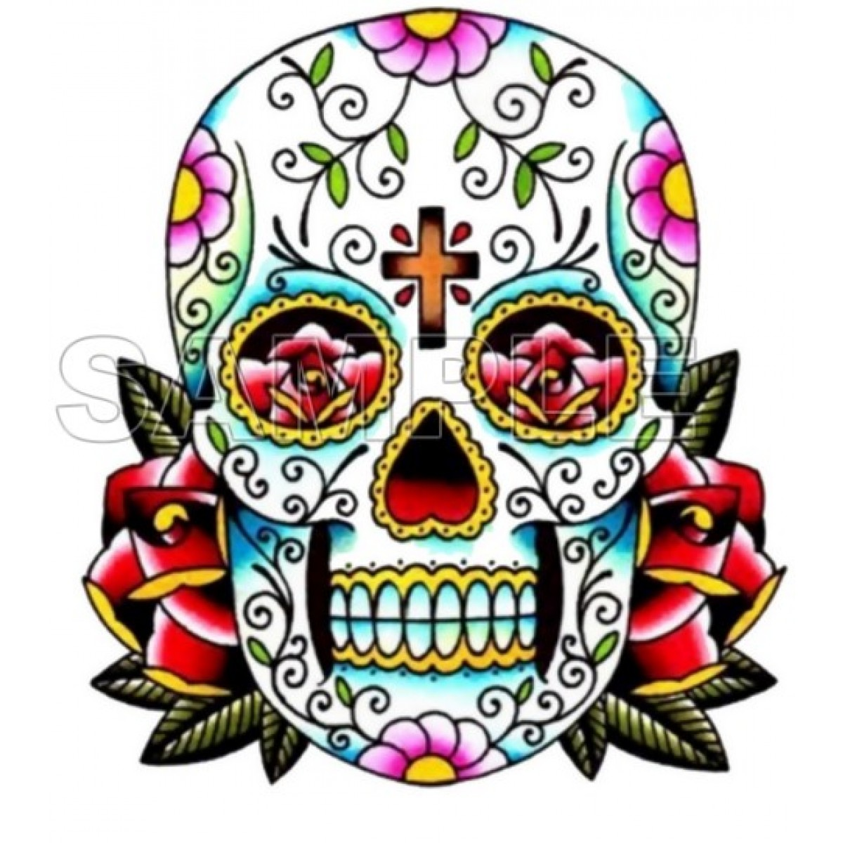 1200x1200 Day Of The Dead Clipart Mask