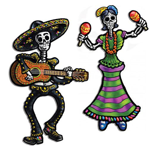 521x521 Day Of The Dead Party Supplies