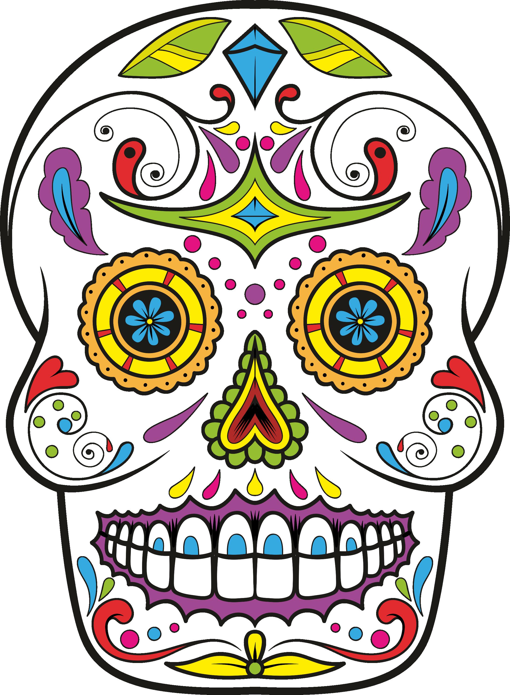 2183x2974 Calavera Skull Day Of The Dead Drawing Clip Art