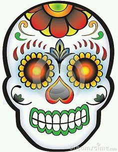 236x305 Day Of The Dead Sugar Skull Girls Clip Art Clipart Set