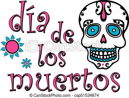 450x341 Day Of The Dead Graphic Colorful. Colorful Day Of The Dead