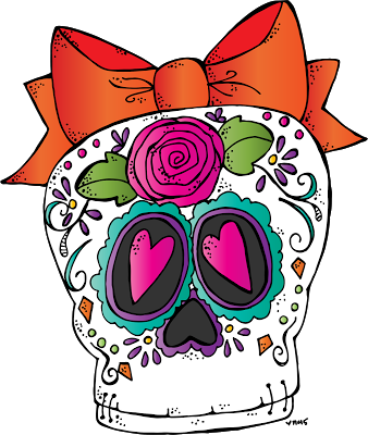 338x400 Melonheadz Illustrating Sugar Skull Freebie 2015 Clip Artsy
