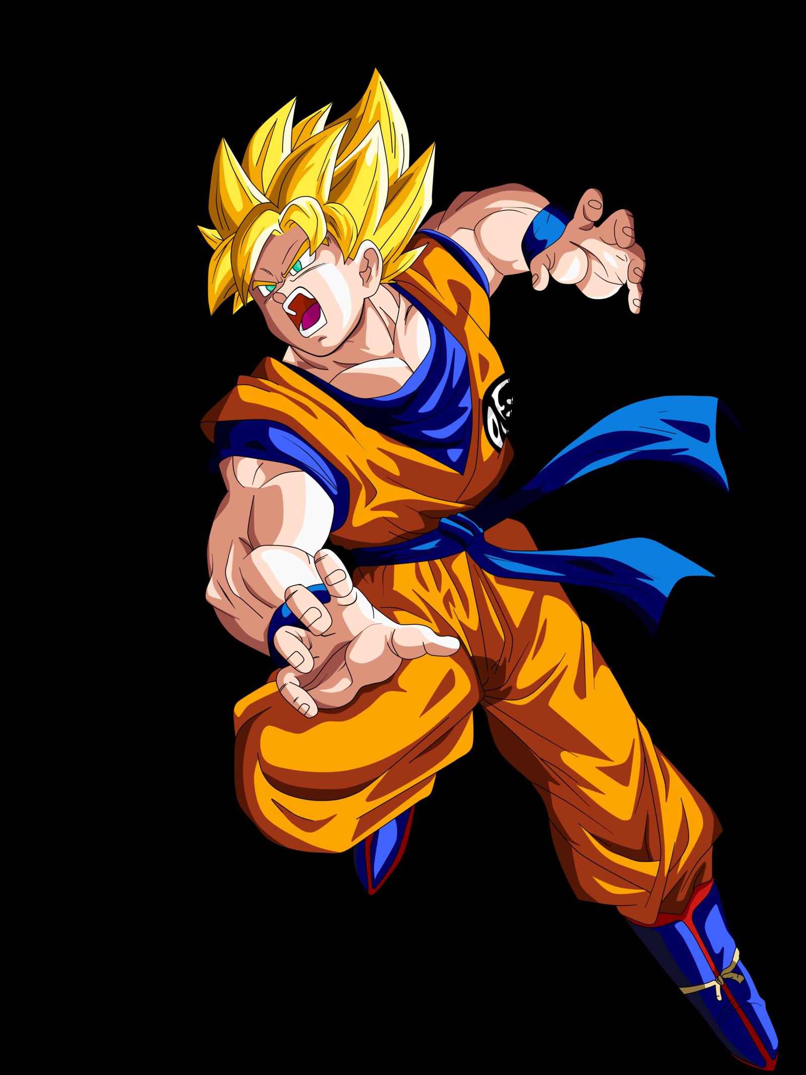 1600x2133 Goku Ssj By Supergoku37