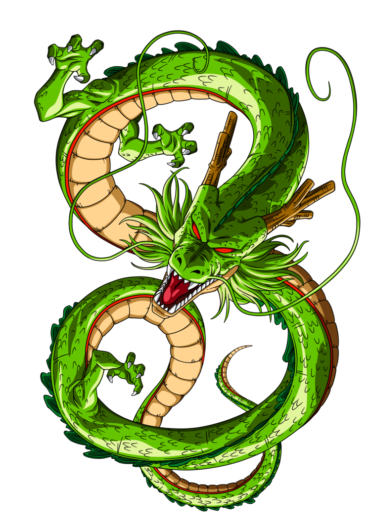 742x1076 Shenron By Orco05