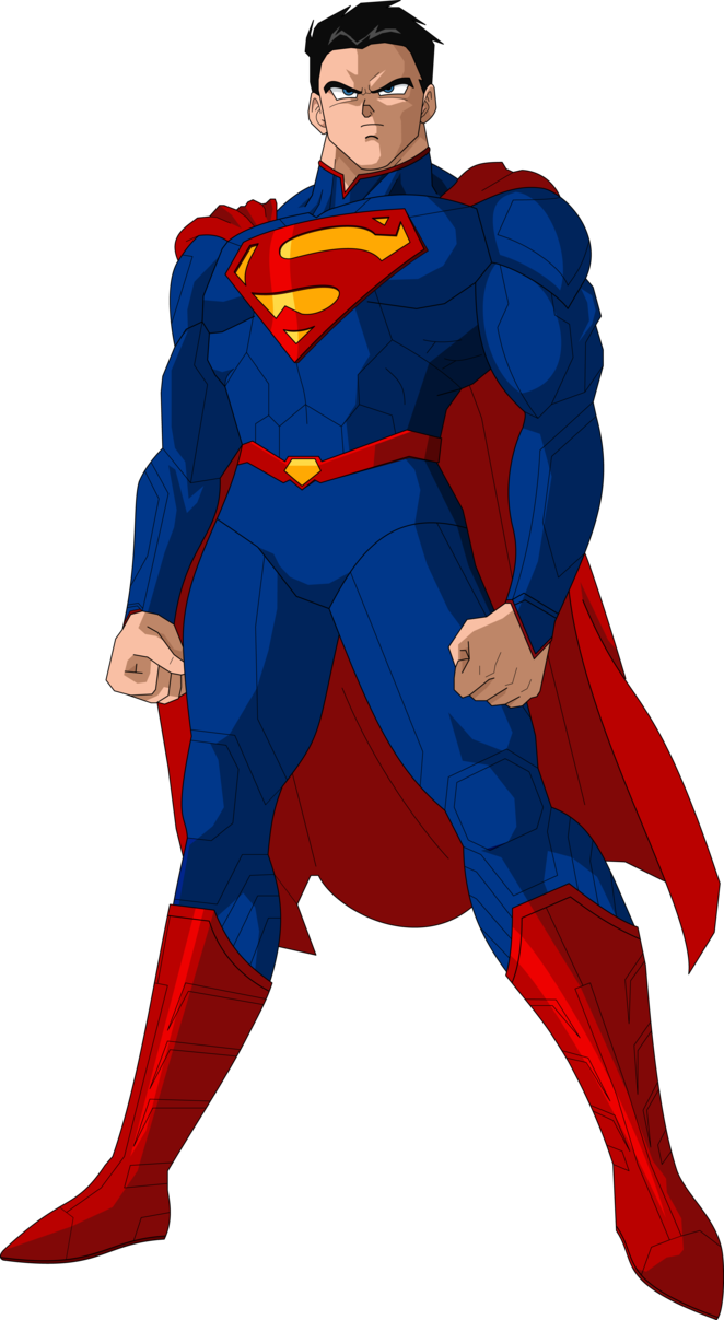 662x1207 Super Man New52 Dbz Style By Mad 54