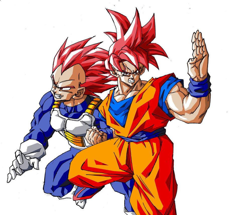 933x857 Super Saiyan God Goku And Vegeta By Wesleygrace58
