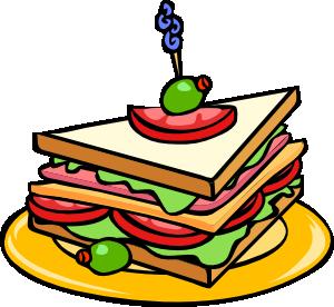 300x276 Triangle Sandwich Clip Art Clipart Panda