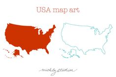 236x156 Vector And Png World Map Watercolor Amp Outline Digital Clip Art