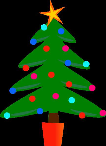 432x594 Christmas Tree Clipart Clip Art Christmas Tree 432 594
