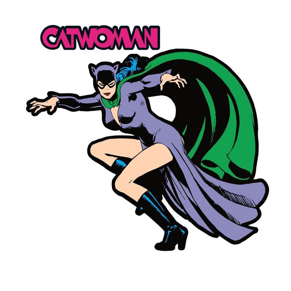 1000x1000 Dc Comics Catwoman Fathead Batman Villain Wall Sticker