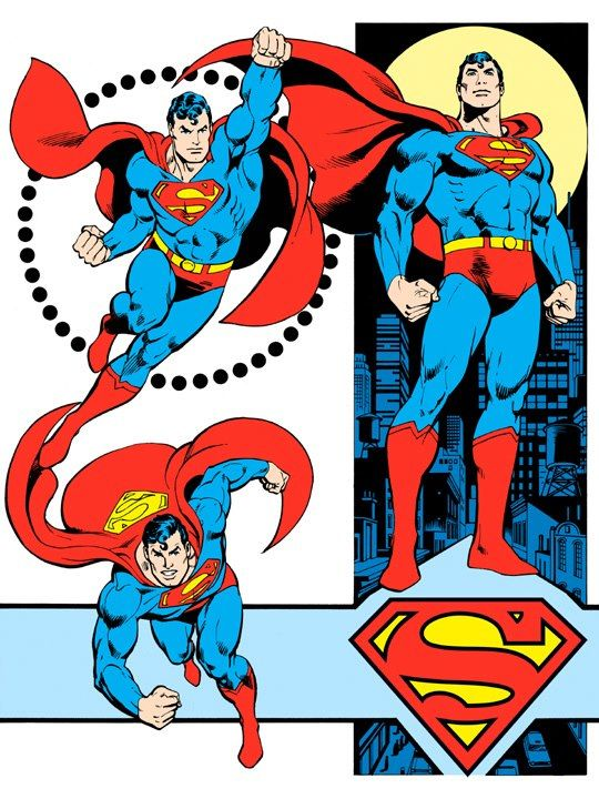 540x720 Dc Comics Style Guide, Art By Retro Art And Ads