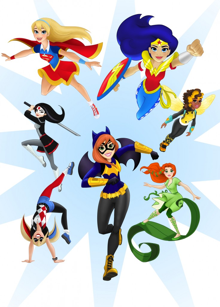 735x1024 Marketing To Girls Warner Bros. Mattel Dc Super Hero Girls