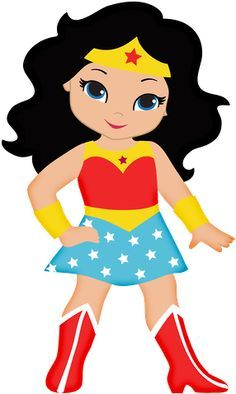 236x394 Free Down Load Wonder Woman Cup Cake Topper