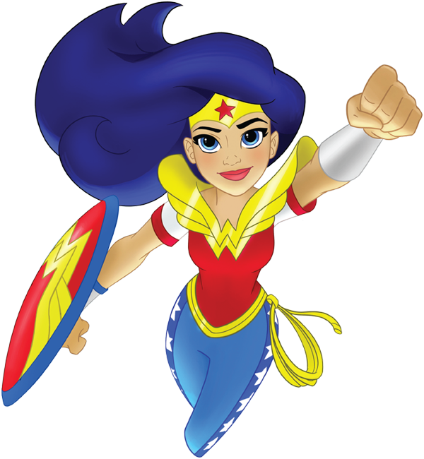 Dc Superhero Girls Clipart at GetDrawings com | Free for
