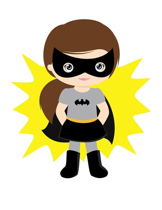 556x720 Super Girl Clipart Batgirl'66649