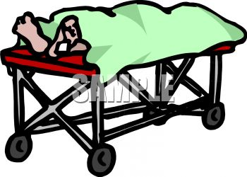 350x250 Royalty Free Clipart Image Dead Person With A Toe Tag On A Morgue