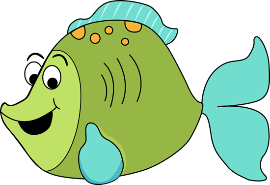 550x376 Fish Clip Art Cartoon Fish Clip Art Image Fun Green Cartoon Fish