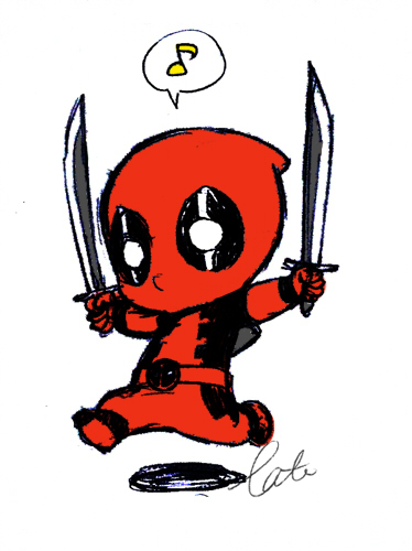 374x500 Marvel Babies Deadpool Click To Edit Characters