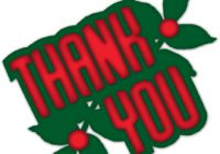 200x140 Christmas Thank You Clipart Holiday Greetings December Holidays