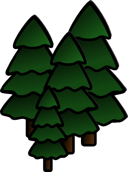 444x593 Simple Tree Root Clipart
