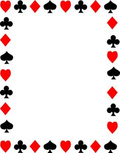 236x301 Free Clip Art Of Red And Black Playing Card Suits