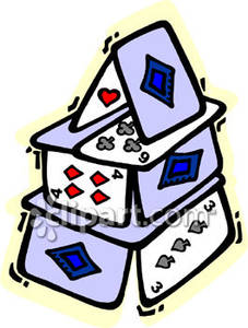 227x300 House Of Cards Clipart