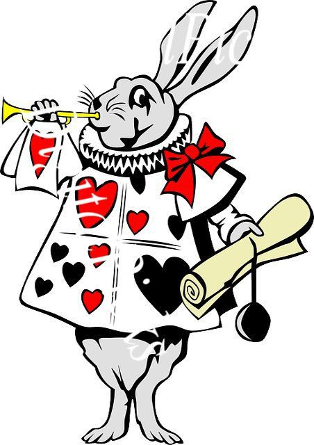 452x640 9.257 X 12 Playing Cards Jester Bunny Digital Clip Art Png