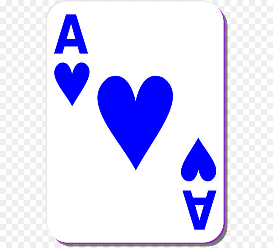 900x820 Playing Card Ace Of Hearts Card Game Clip Art