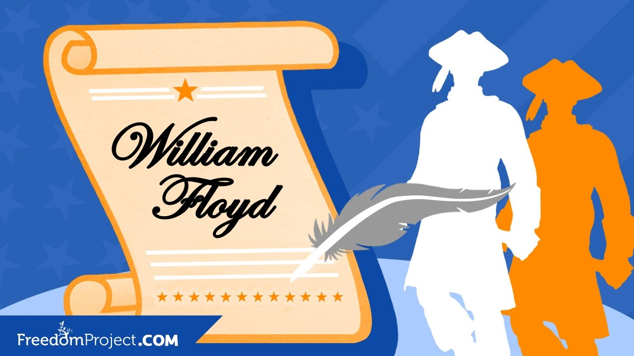 1280x720 William Floyd Declaration Of Independence