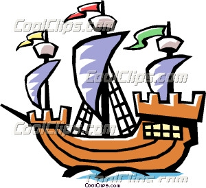 300x274 Boat Clipart Old Fashioned