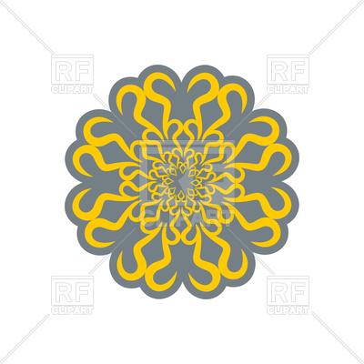 400x400 Arabic Ornament. Oriental Decorative Pattern. Royalty Free Vector