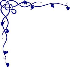 298x285 Navy Decorative Swirl Clip Art Clipart Panda